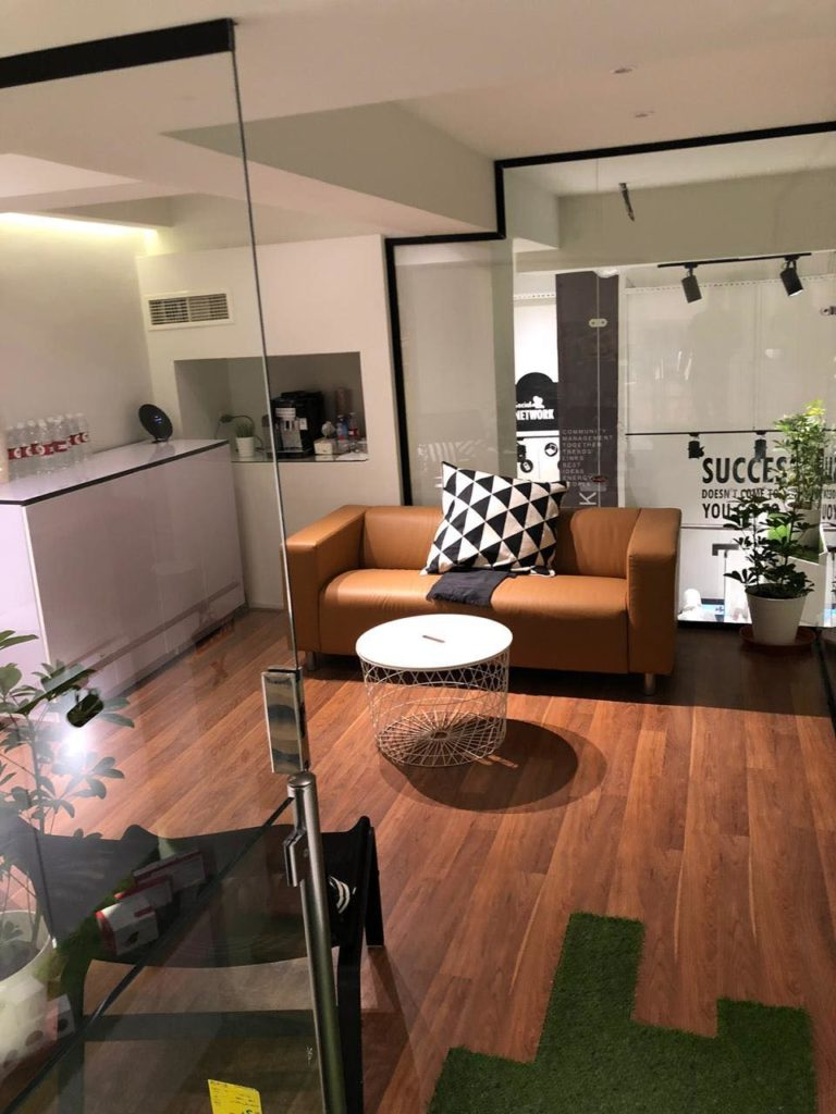 New Carnival Trading Headquarter lounge